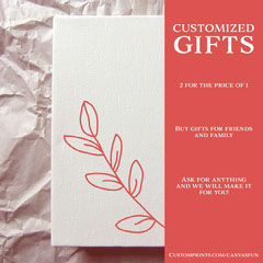 Customized gifts Paint