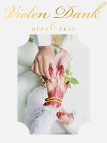 white wedding thank you cards Hochzeitsdankeskarten