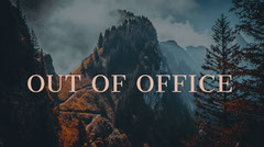 out of office twitter banner  Landscape