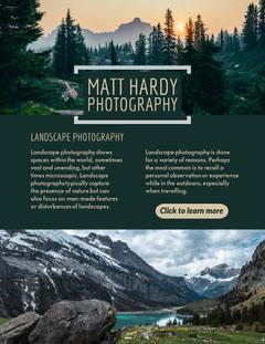 Landscape Photography Newsletter Photography