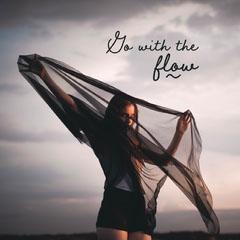 go with the flow instagram  Sky