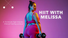 Pink Background and Exercising Plus Size Woman Photo Gym Workout Youtube Thumbnail Workout