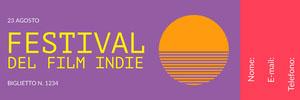 <BR>Festival  Biglietto