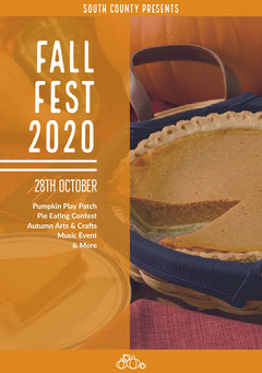 FALL<BR>FEST<BR>2020 Play Poster