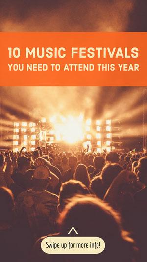 music festival igstory Music Festival Poster