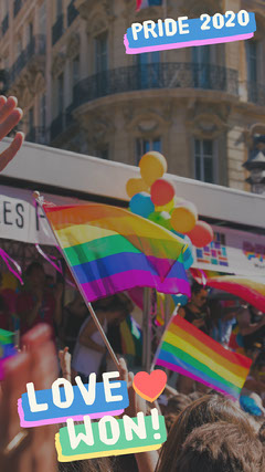 Love Won Snapchat Geofilter Pride