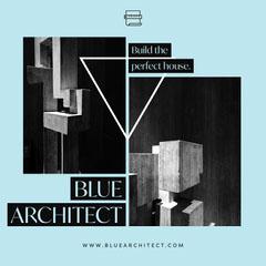 Blue Architect Instagram Square Architecture