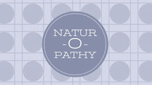 White and Violet Naturopathy Banner Facebook-Titelbild