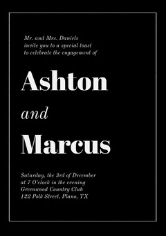 Ashton <BR>Marcus  Club Party