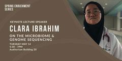 CLARA  IBRAHIM Speaker