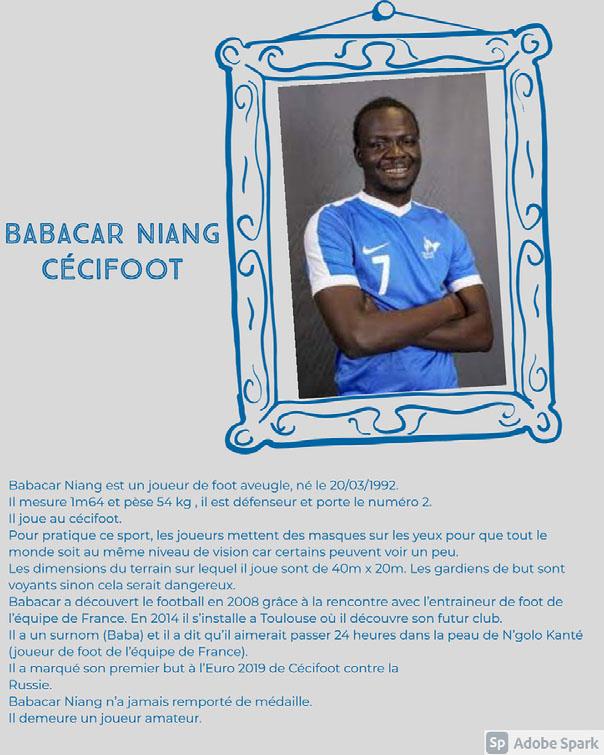 Babacar NIANG Cécifoot