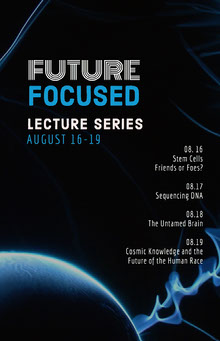 Black and Blue Lecture Program School Posters