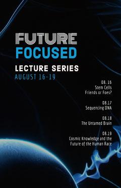 Black and Blue Lecture Program Speaker