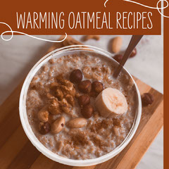 Brown Tones Oatmeal Bowl Recipes Instagram Square Chef