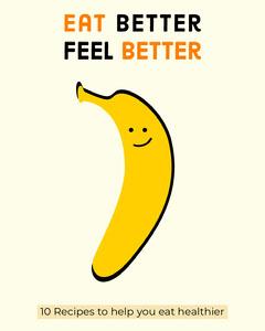 eat better banana Instagram portrait Food