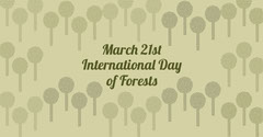 Green Day of Forests Facebook Forest