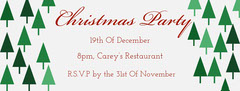 christmas event Facebook banner Christmas Party