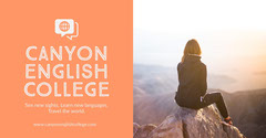 Canyon English College Facebook Advert Education
