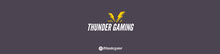 Thunder Gaming Streamer Twitch Banner Banner per Twitch