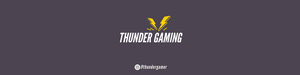 thunder gaming twitch banner Banner