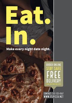 Pizza Restaurant Flyer Pizza