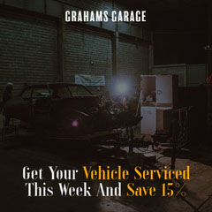 Grahams Garage IG Square Discount