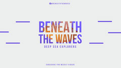 Deep Sea Exploration YouTube Channel Art Wave