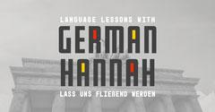 Grey German Tutor Facebook Post Tutor Flyer