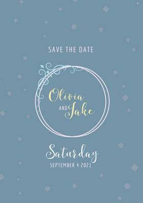 Jake Save the Date Card