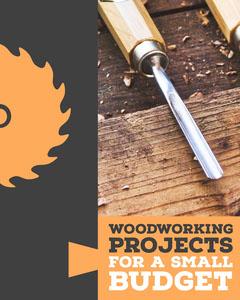 Orange & Grey Woodwork Project Instagram Portrait Grey