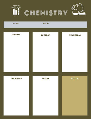 Green Chemistry Lesson Plan Piano di studio