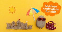 Yellow Outdoor Craft Ideas for Children Instagram Landscape Kids