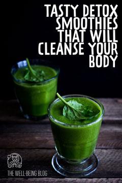 Tasty Detox Smoothies Pinterest Health Posters