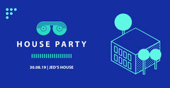 House Party Teal