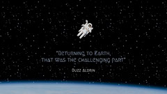 space astronaut buzz aldrin quote desktop wallpaper Stars