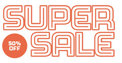 super sale instagram landscape Sale Flyer