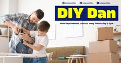 yellow navy diy dan home improvements facebook  Sweet Home