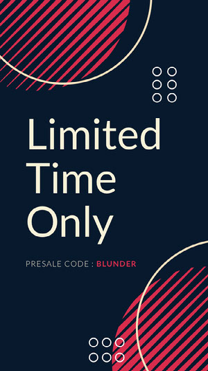 Modern, Geometric Dark Blue and Pink Discount Offer Instagram Story How To Convert Your Website Traffic To Buyers