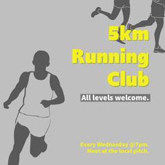 running club - instagram square Exercises
