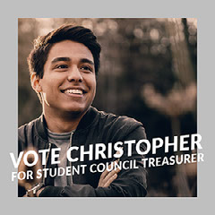 Grey Toned Student Council Candidate Portrait Instagram Post Student Council Poster