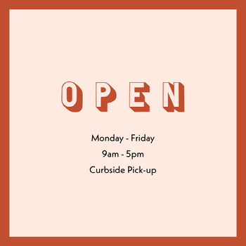 Simple Business Operating Hours Announcement COVID-19 Re-opening