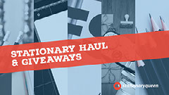Red and Blue Toned Haul and Giveaways Collage Facebook Banner Giveaway