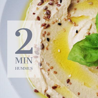 2 Min Hummus