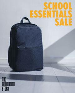 School Essentials Sale Instagram portrait Discount