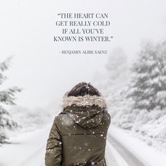 Winter Quotes Heart igsquare Heart