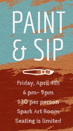 PAINT & SIP Paint