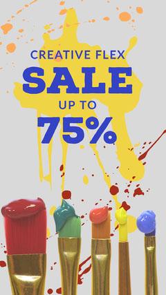 SALE<BR>75% Paint