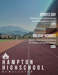 Running Track Photo High School Newsletter Newsletter Examples