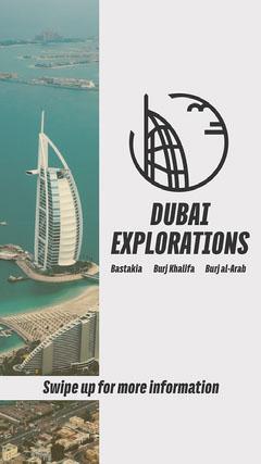 Dubai Explorations Instagram Story Story