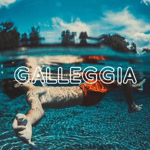 GALLEGGIA Testo su foto